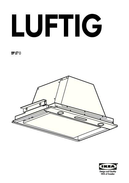 Ikea luftig bf570
