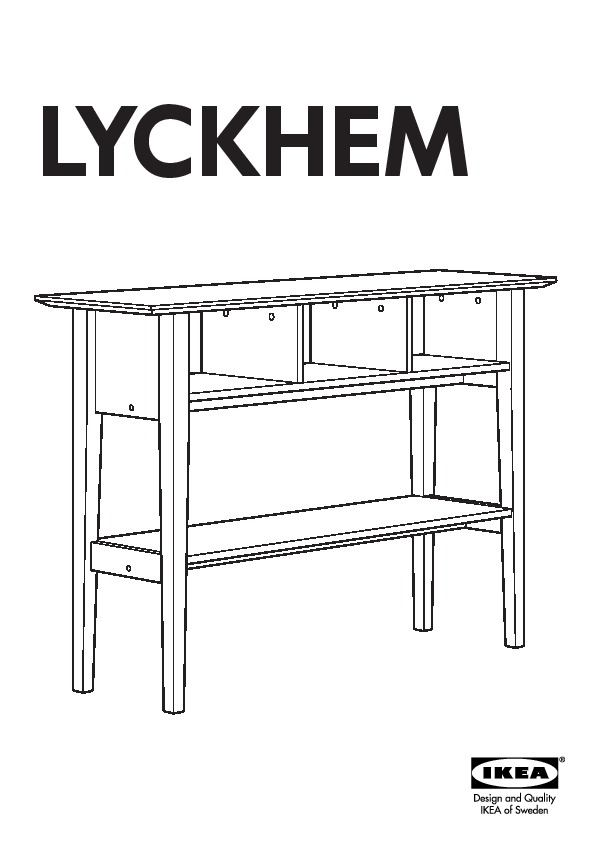 lyckhem table d 39 appoint blanc ikea france ikeapedia. Black Bedroom Furniture Sets. Home Design Ideas