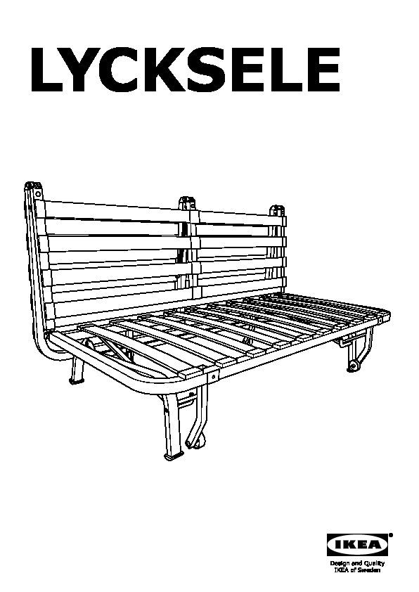 lycksele lÖvÅs divano letto a 2 posti henån blu (ikea italy ... - 2 Posti Divano Letto Blu
