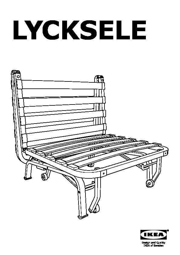 Poltrona Letto Ikea Lycksele.Lycksele Lovas Poltrona Letto Henan Nero Ikea Italy Ikeapedia