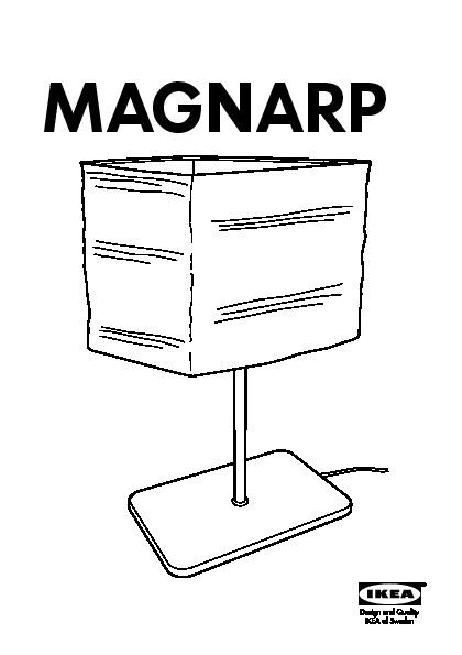 Magnarp table lamp natural ikea united kingdom ikeapedia for Magnarp table lamp youtube