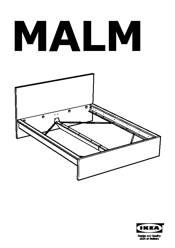 Malm High Bed Frame 4 Storage Boxes White Luroy Ikeapedia