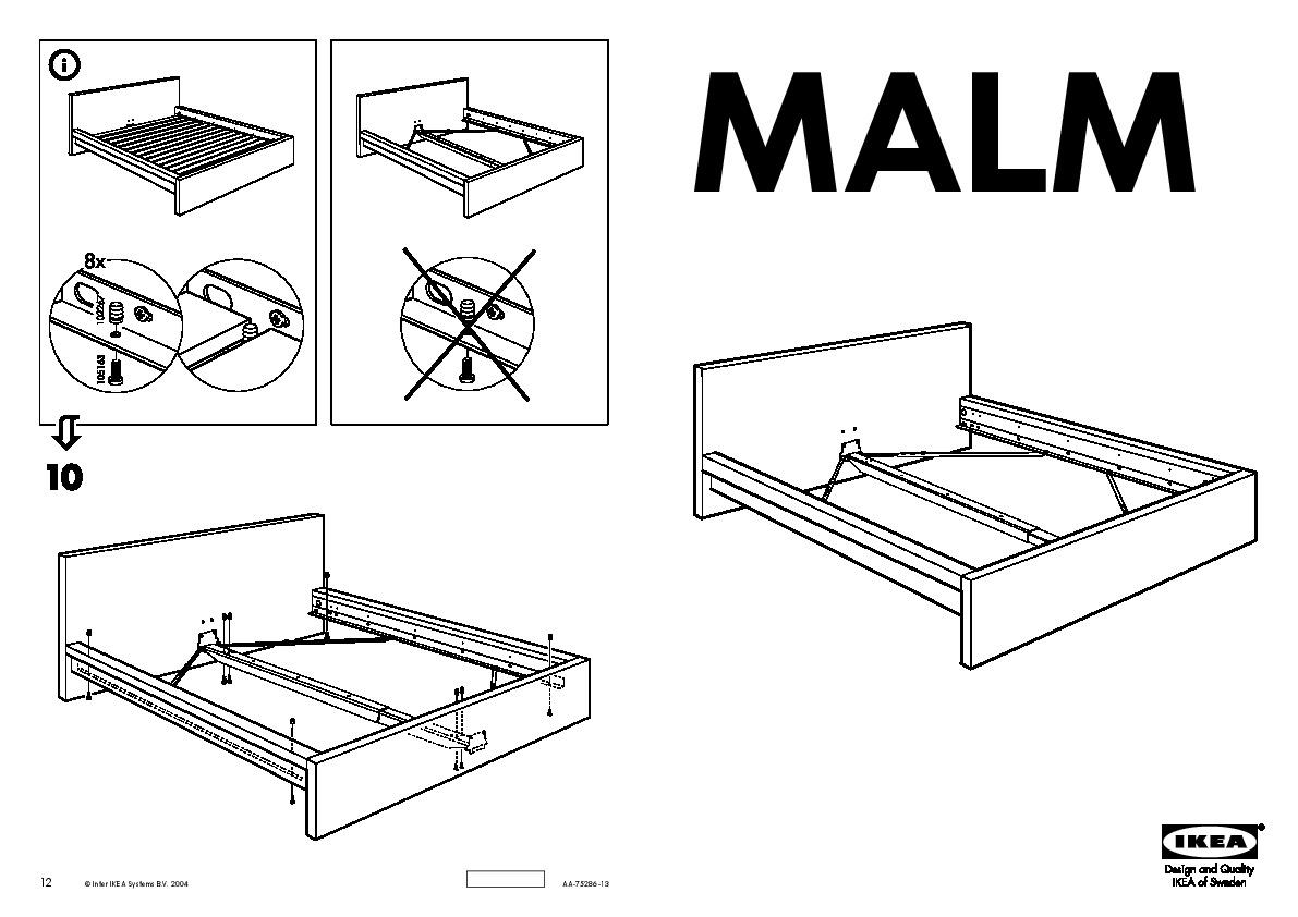 Malm Structure De Lit Plaqué Bouleau Ikea Belgium Ikeapedia