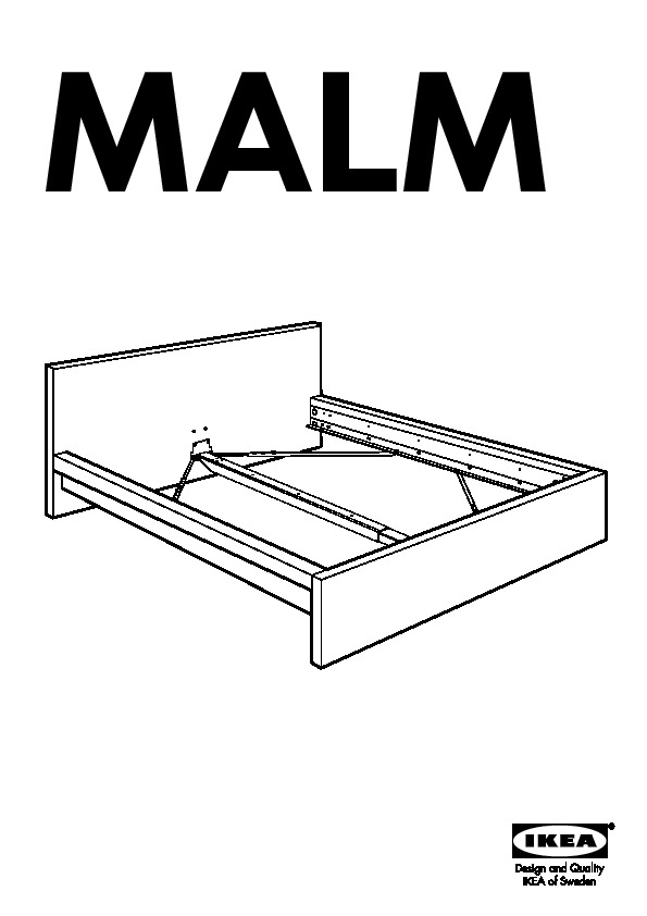 lit ikea malm notice montage. Black Bedroom Furniture Sets. Home Design Ideas