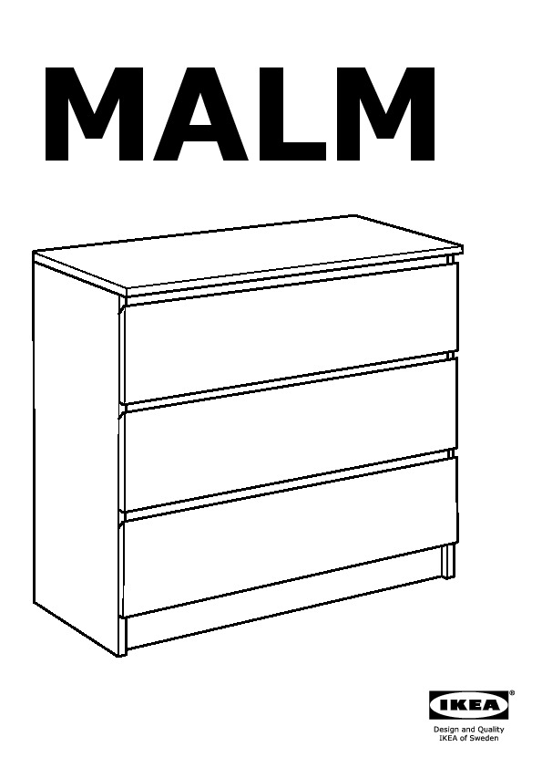 malm commode 3 tiroirs blanc ikea france ikeapedia. Black Bedroom Furniture Sets. Home Design Ideas