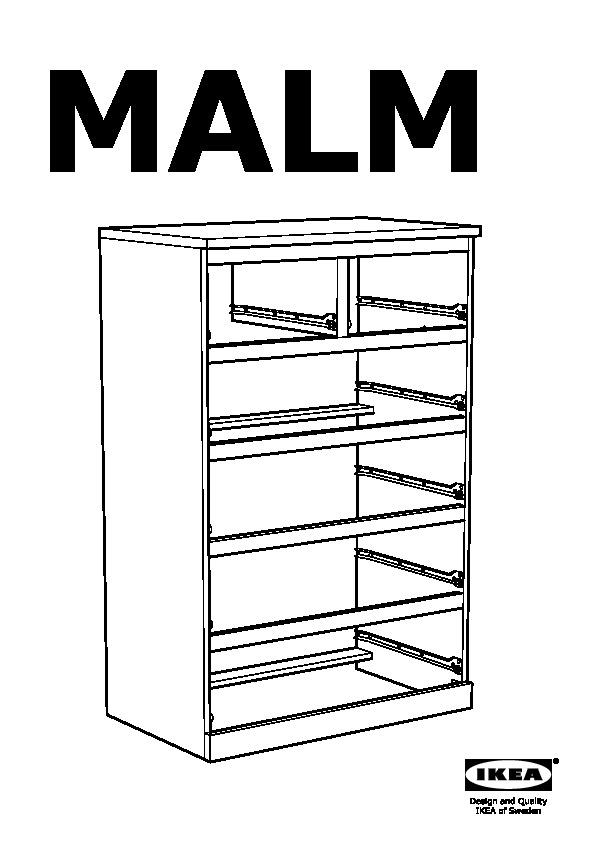 malm 6 drawer chest white ikea united states ikeapedia. Black Bedroom Furniture Sets. Home Design Ideas
