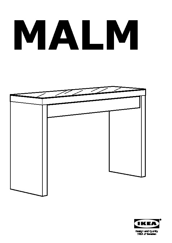 Malm Dressing Table Black Brown Ikea Canada English