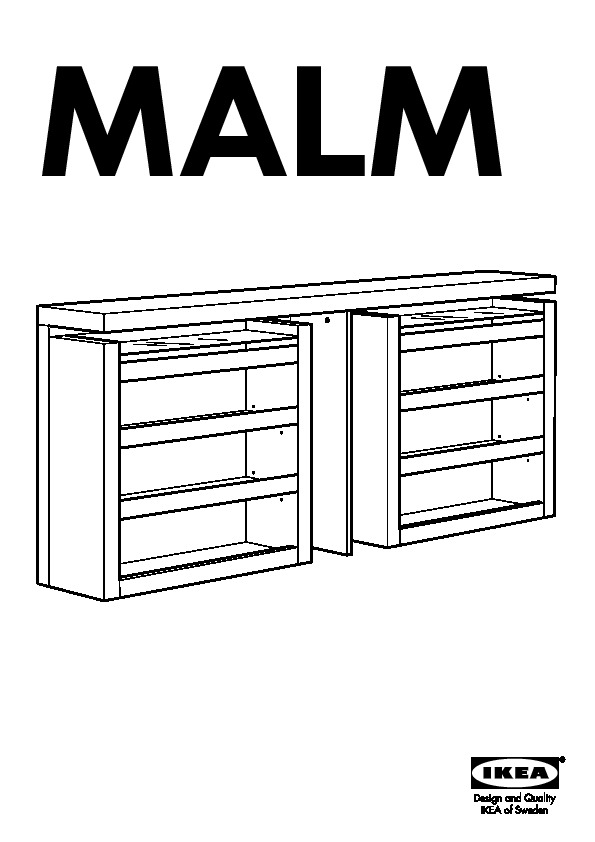 malm t te de lit tablette 3 parties plaqu bouleau ikea. Black Bedroom Furniture Sets. Home Design Ideas