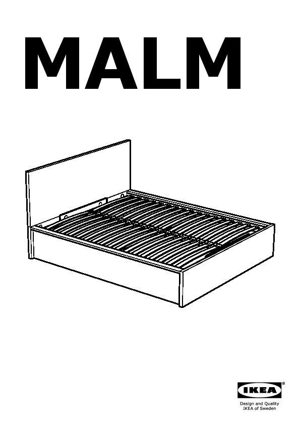 MALM Bed Frame With Storage