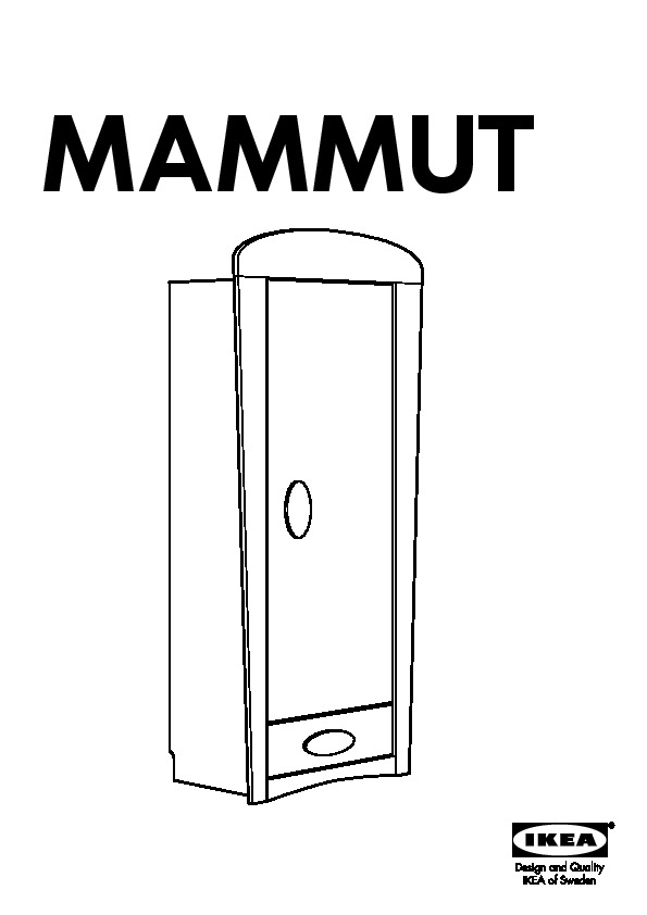 ikea mammut armoire table de lit a roulettes. Black Bedroom Furniture Sets. Home Design Ideas