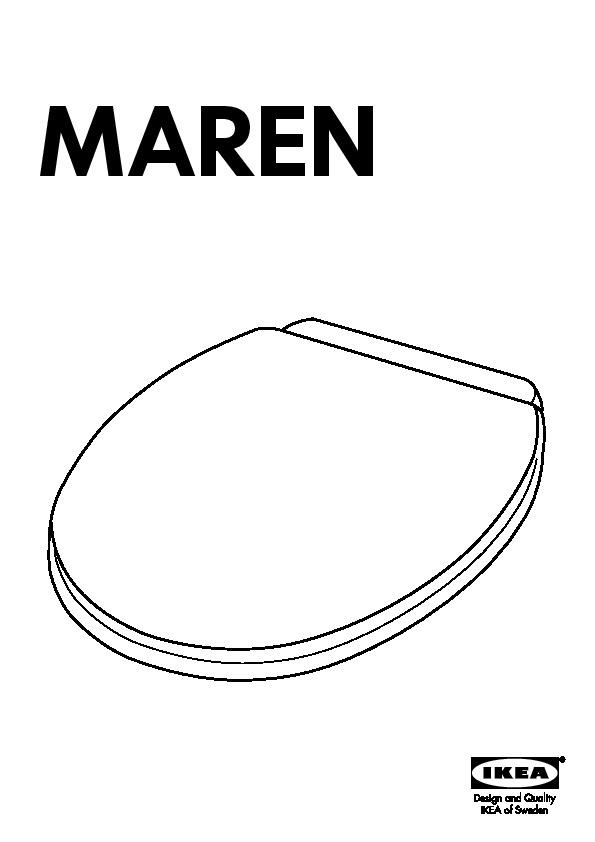 Maren Abattant Wc Blanc Ikea France Ikeapedia