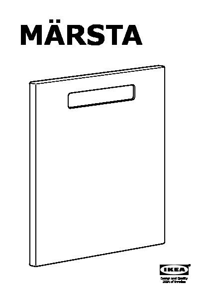 m rsta fa ade pour lave vaisselle blanc ikea france. Black Bedroom Furniture Sets. Home Design Ideas