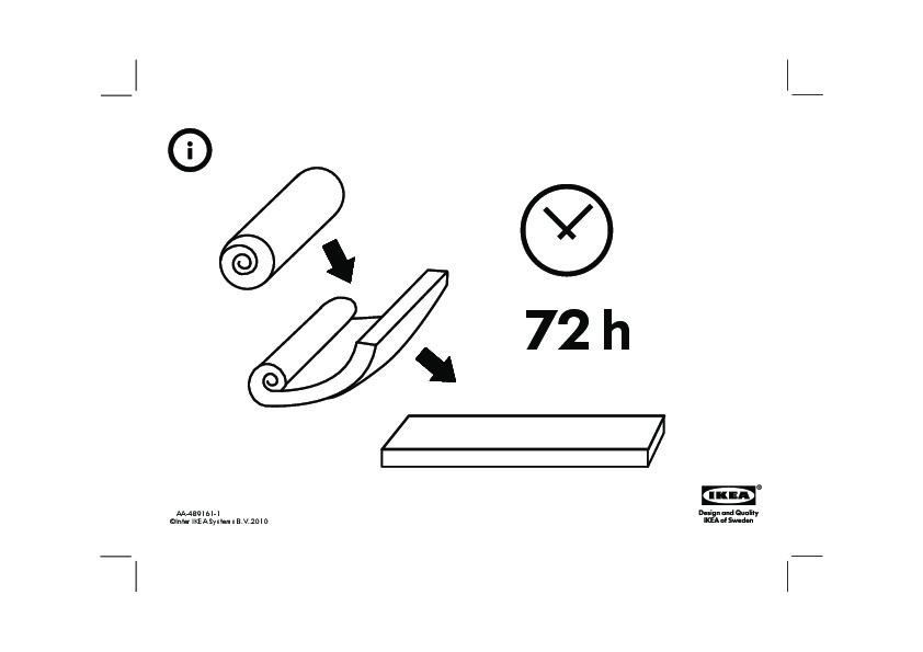 Materassi Ikea Memory Foam.Matrand Materasso In Memory Foam Casa