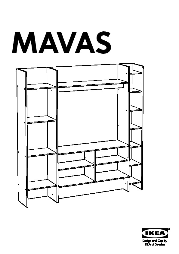 mavas meuble tv hifi blanc ikea france ikeapedia. Black Bedroom Furniture Sets. Home Design Ideas