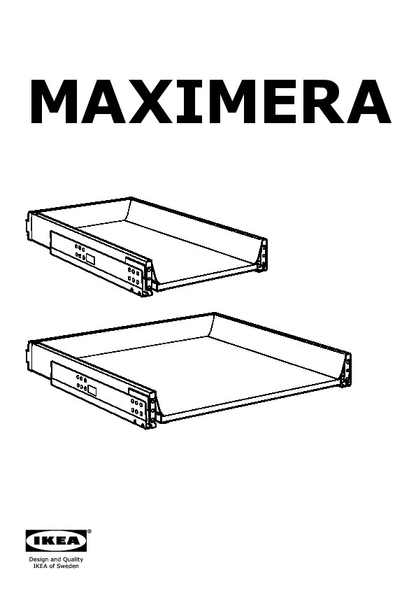 maximera tiroir bas blanc ikea france ikeapedia. Black Bedroom Furniture Sets. Home Design Ideas