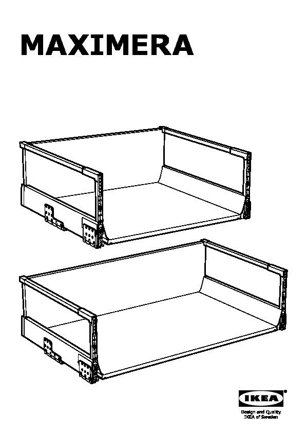 maximera tiroir haut blanc ikea france ikeapedia. Black Bedroom Furniture Sets. Home Design Ideas