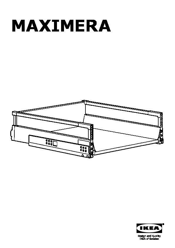 maximera tiroir moyen blanc ikea canada french ikeapedia. Black Bedroom Furniture Sets. Home Design Ideas