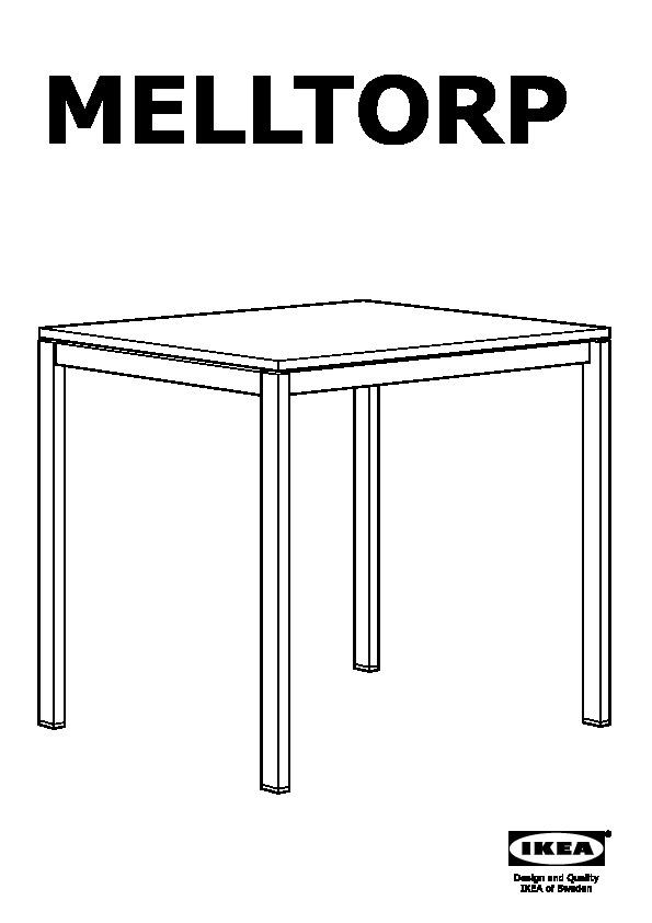 Melltorp Table Et 2 Chaises Blanc Ikea France Ikeapedia
