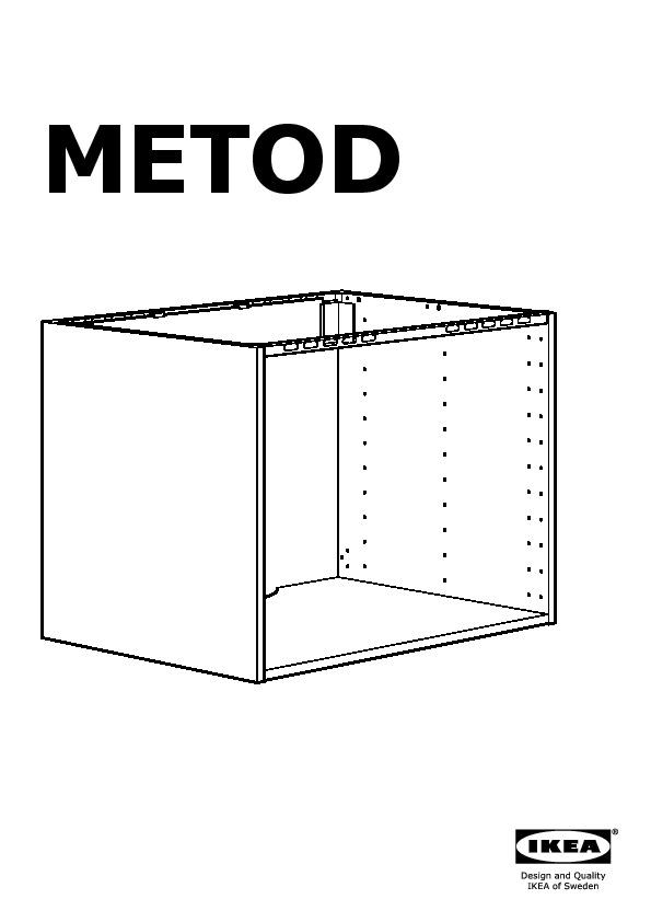 Metod El Evier 2 Ptes Noir Ringhult Creme Ikea France Ikeapedia