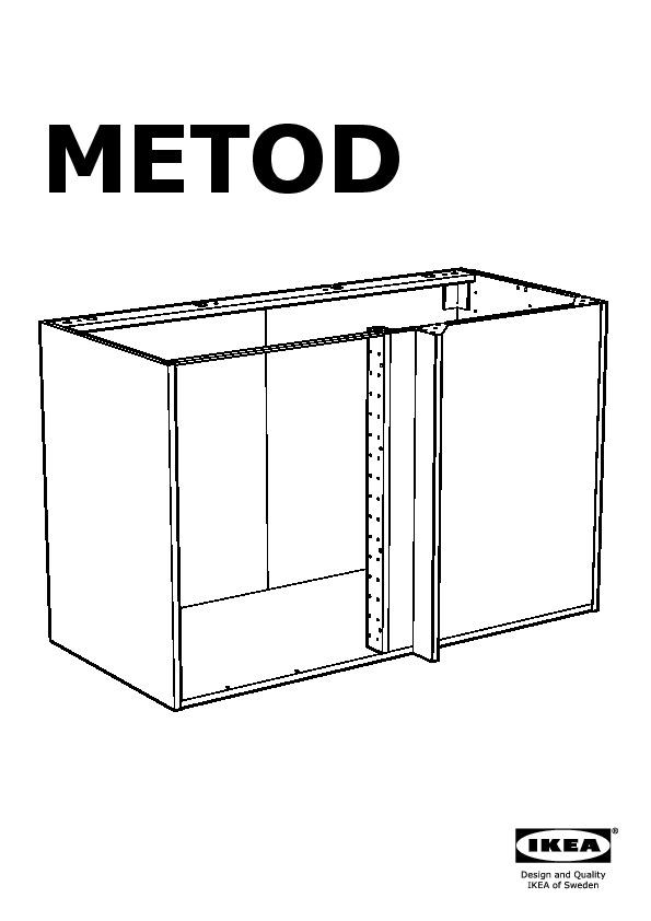 metod lt bas angle am nagement coul noir j rsta jaune ikea france ikeapedia. Black Bedroom Furniture Sets. Home Design Ideas