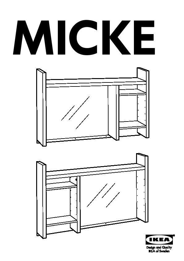micke poste de travail blanc ikea france ikeapedia. Black Bedroom Furniture Sets. Home Design Ideas