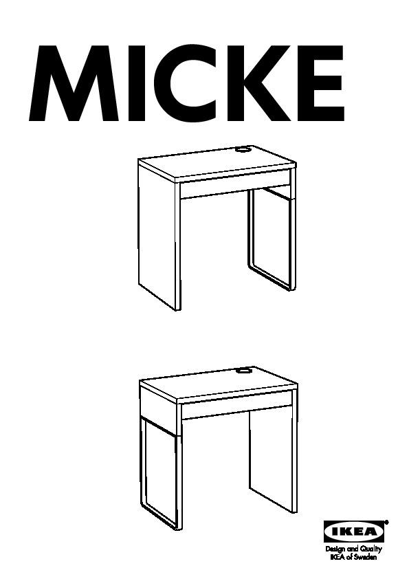 Ikea Scrivania Micke Bianca.Micke Scrivania Bianco Blu Ikea Italy Ikeapedia