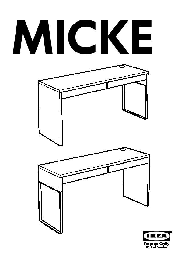 Micke scrivania bianco ikea italy ikeapedia - Scrivania ikea micke ...
