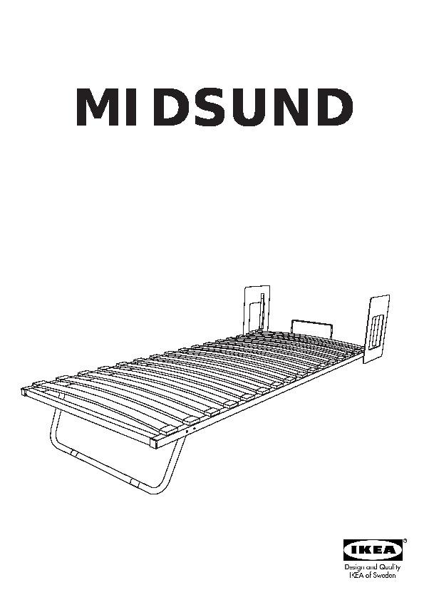 midsund lit escamotable brun noir blanc ikea france ikeapedia. Black Bedroom Furniture Sets. Home Design Ideas