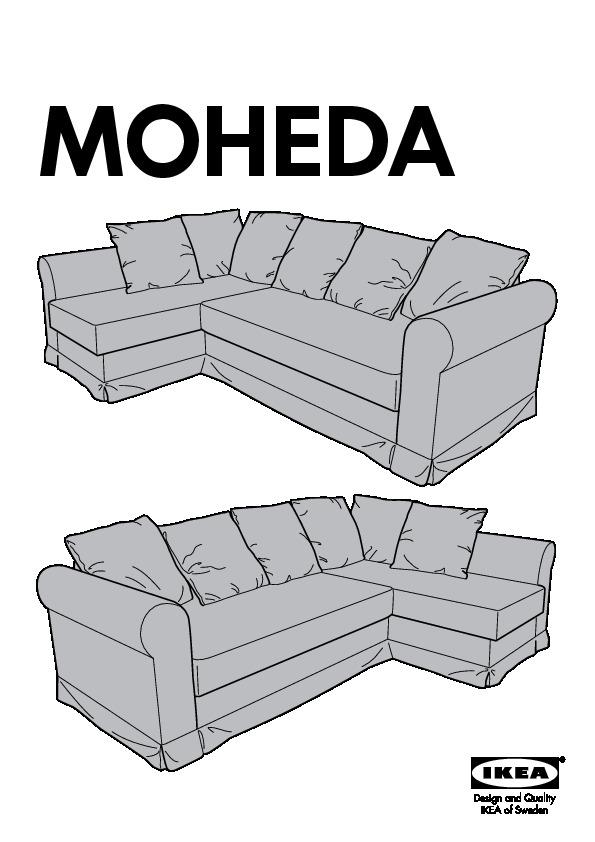 Ikea Moheda Sofa Bed Cover