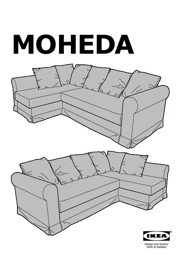 Moheda Corner Sofa Bed