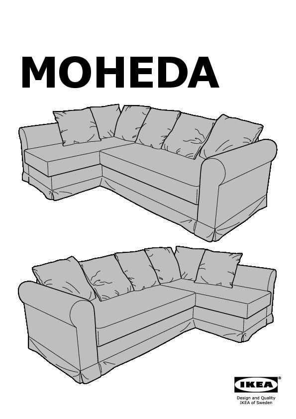 Moheda Corner Sofa Bed