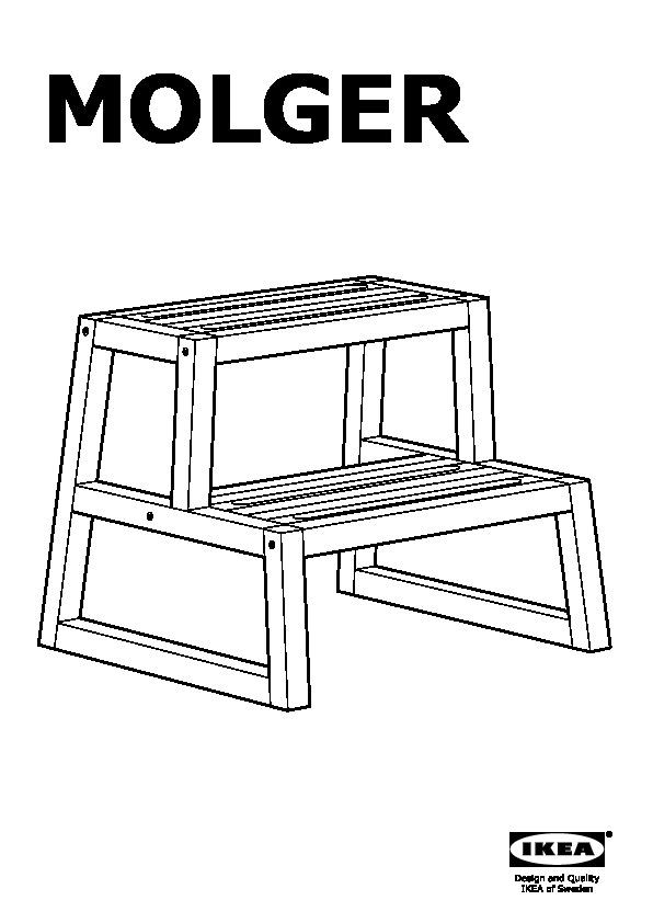 MOLGER Step stool  sc 1 st  IKEADDICT & MOLGER Step stool birch (IKEA Canada (English)) - IKEAPEDIA islam-shia.org