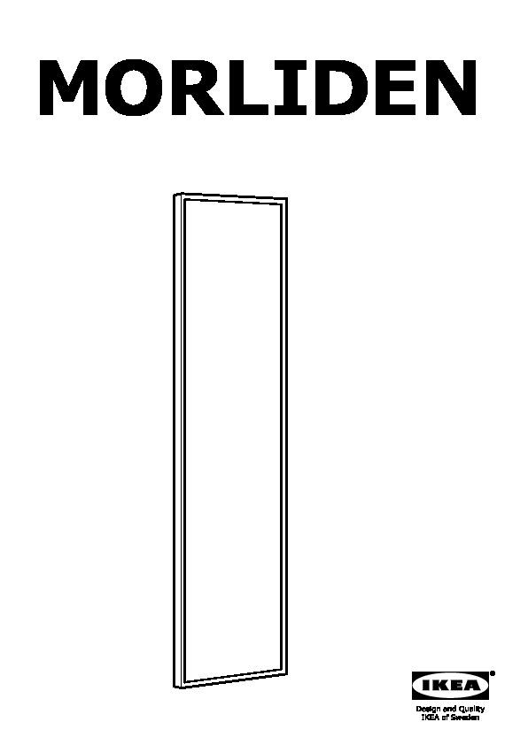 Ikea Ante Vetro Billy.Billy Morliden Libreria Bianco Ikea Italy Assembly Instruction