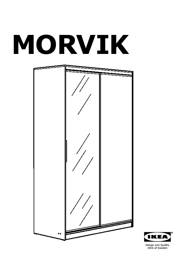 morvik armoire penderie ikea france ikeapedia. Black Bedroom Furniture Sets. Home Design Ideas