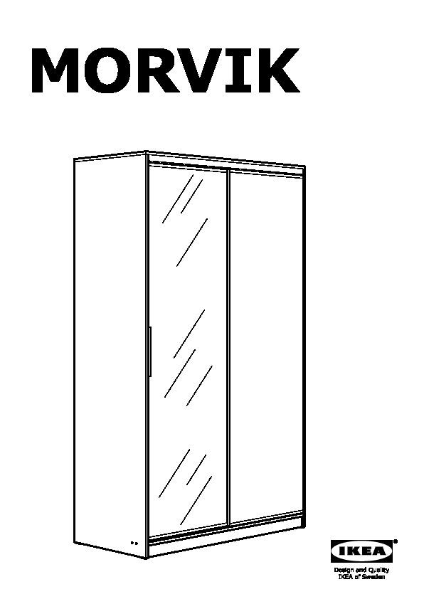 morvik armoire penderie ikea france ikeapedia. Black Bedroom Furniture Sets. Home Design Ideas