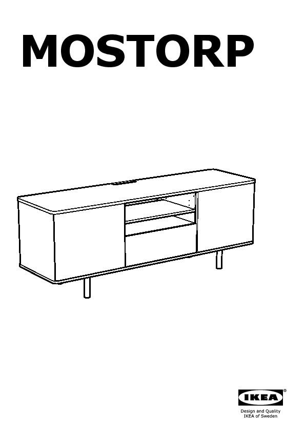 mostorp banc tv beige ikea france ikeapedia. Black Bedroom Furniture Sets. Home Design Ideas