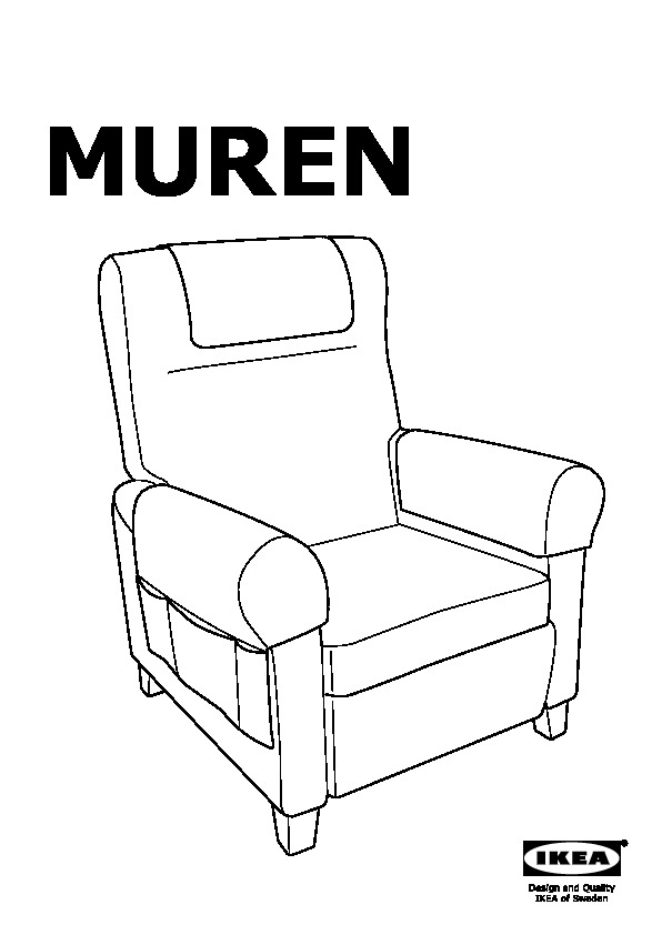 muren fauteuil confort nordvalla gris moyen ikea france ikeapedia. Black Bedroom Furniture Sets. Home Design Ideas