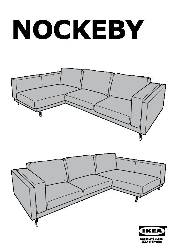 Strange Nockeby Cover For Loveseat With Chaise Left Teno Light Gray Ibusinesslaw Wood Chair Design Ideas Ibusinesslaworg