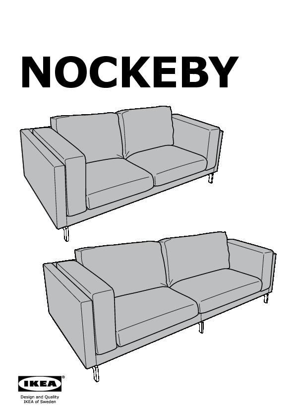 Nockeby Sofa nockeby sofa cover risane white ikea united states ikeapedia