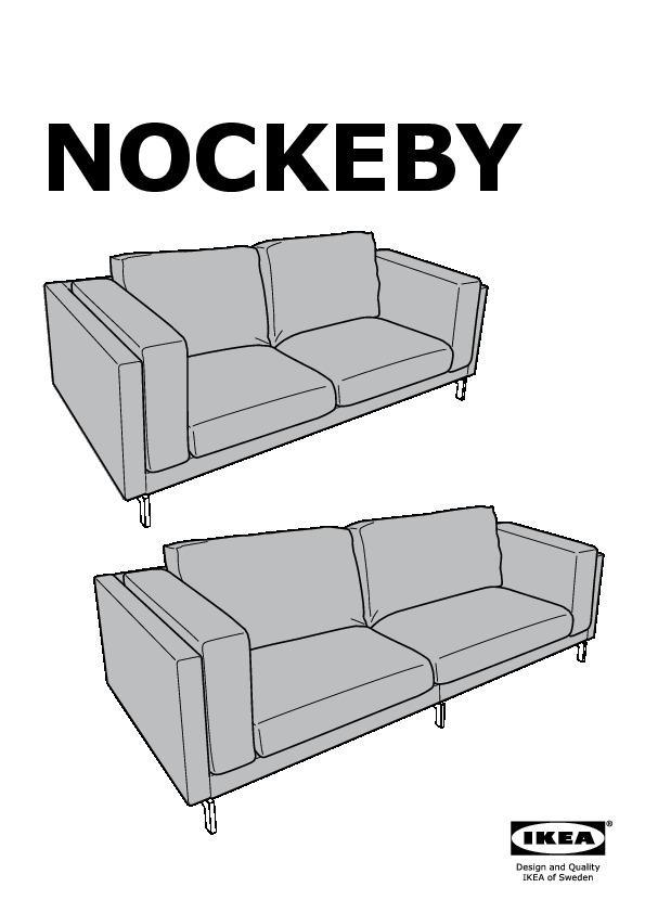 NOCKEBY Sofa Cover