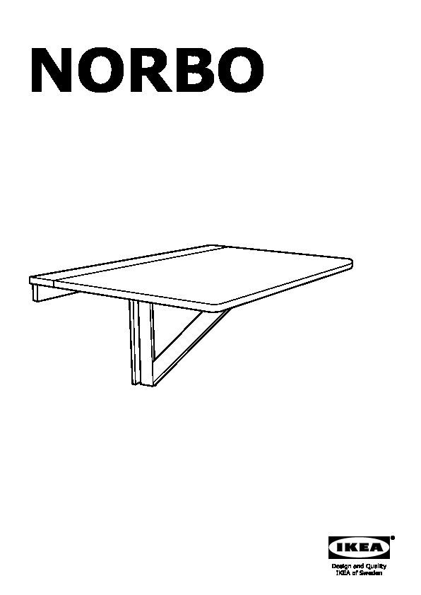 norbo table murale rabat bouleau ikea switzerland ikeapedia. Black Bedroom Furniture Sets. Home Design Ideas
