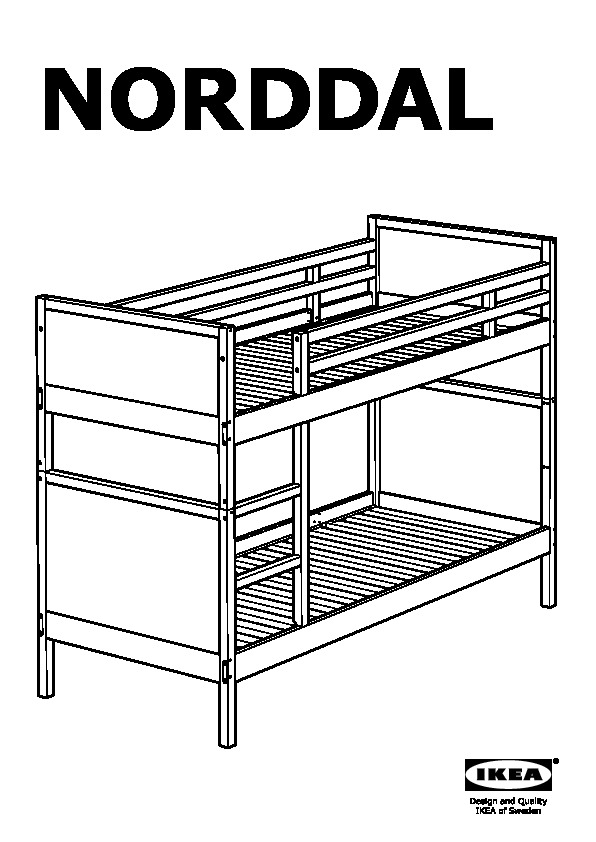 Ikea Wooden Bunk Bed Instructions