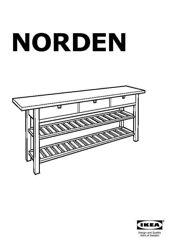 Ikea tavolo consolle lam di calligaris un tavolo for Tavolo norden ikea