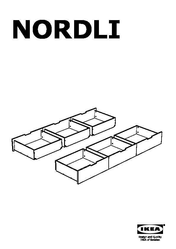 Nordli Bed Frame Assembly Instructions
