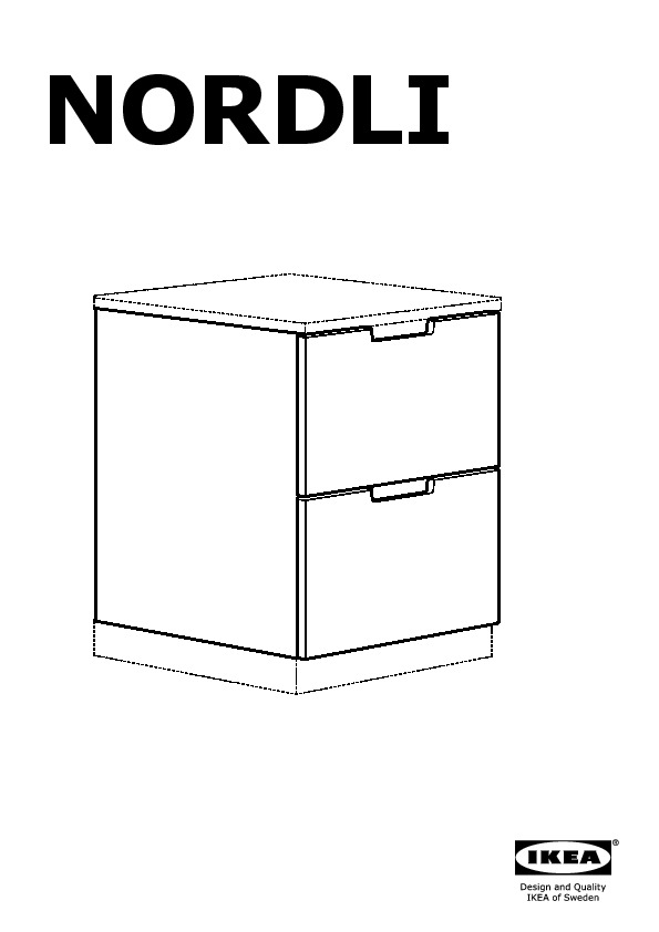nordli commode 7 tiroirs blanc jaune ikea france. Black Bedroom Furniture Sets. Home Design Ideas