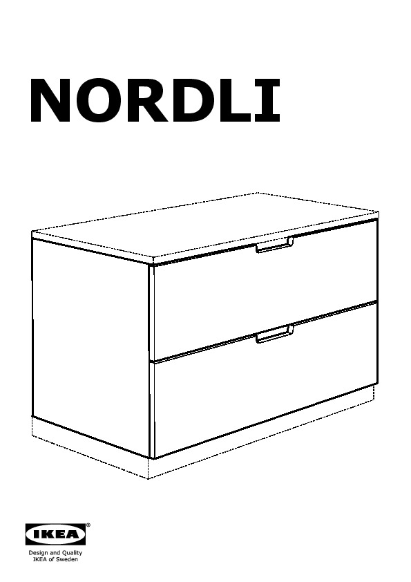 nordli commode blanc ikea france ikeapedia. Black Bedroom Furniture Sets. Home Design Ideas