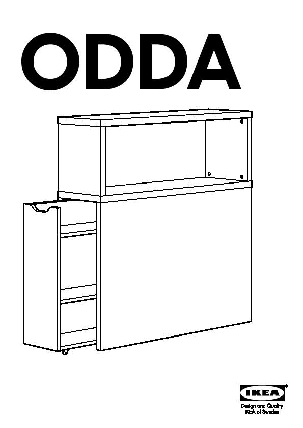ODDA Tête De Lit Avec Rangement Blanc Rouge IKEA France IKEAPEDIA - Tete de lit avec rangement 90 cm