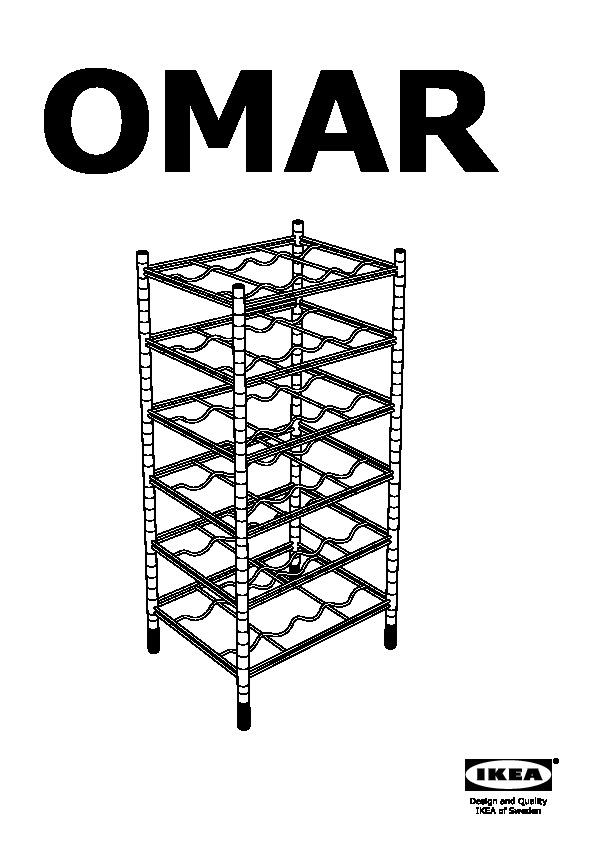 Omar 3 Shelf Sections Ikea United States Ikeapedia