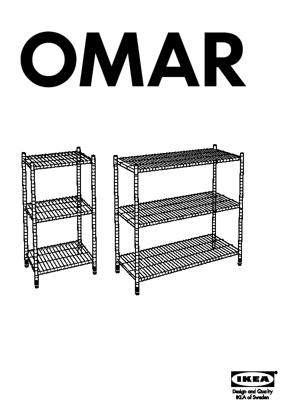 omar tag re acier zingu ikea france ikeapedia. Black Bedroom Furniture Sets. Home Design Ideas