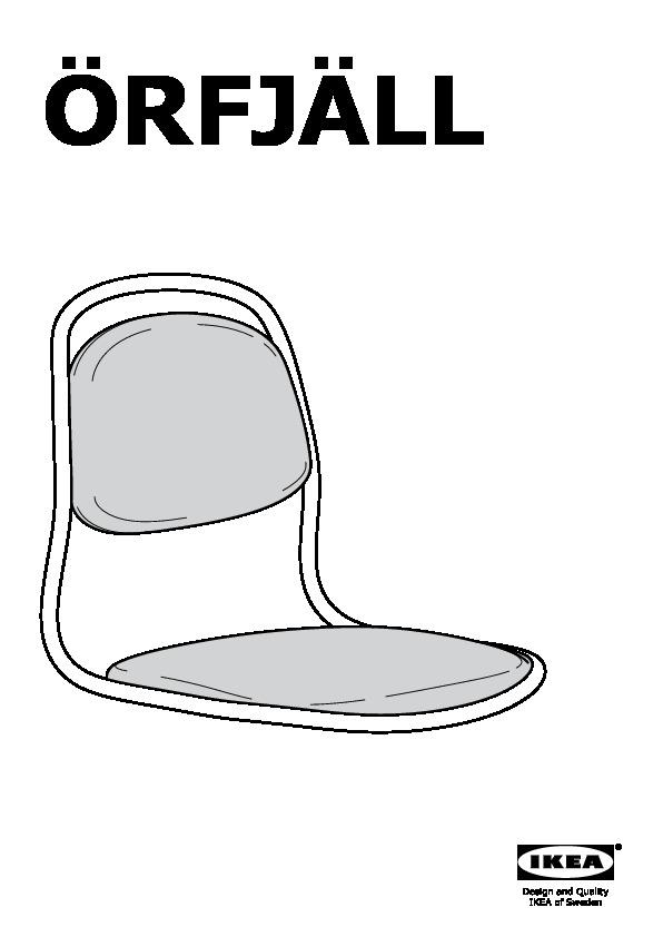 214 Rfj 196 Ll Sporren Swivel Chair Black Ikea United States